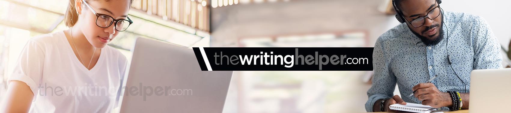 The Writing Helper